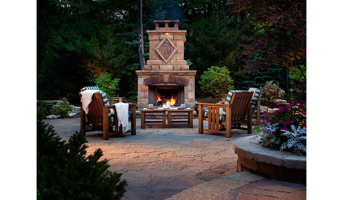 Outdoor Fireplace Construction Hamptons NY